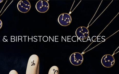 Zodiac Sign Pendants & Necklaces