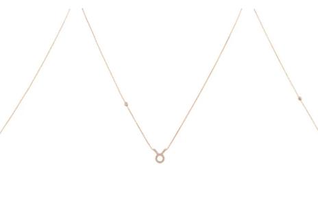zodiac sign pendants gold